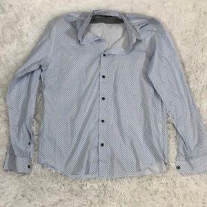 Vince Long Sleeve Button Down Shirt Size L